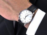 kwarcowy Zegarek męski Doxa Slim Line 105.10.021.01 - duże 6