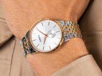 kwarcowy Zegarek męski Doxa Slim Line 105.60.021.60 - duże 6