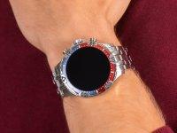 Fossil Smartwatch FTW4040 GEN 5 SMARTWATCH GARRETT HR SILVER zegarek sportowy Fossil Q