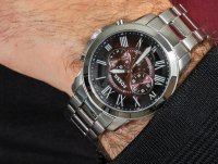 kwarcowy Zegarek męski Fossil Grant GRANT FS5628 - duże 6