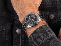 kwarcowy Zegarek męski Guess Bransoleta W0668G3 - duże 6
