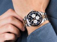 kwarcowy Zegarek męski Guess Bransoleta W1107G3 - duże 6
