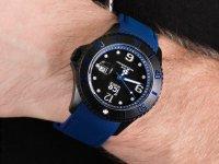 kwarcowy Zegarek męski ICE Watch ICE-Steel ICE steel - Black blue Rozm. L ICE.015783 - duże 6