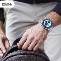 kwarcowy Zegarek męski Lorus Sportowe RT331HX9 - duże 12
