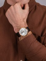 kwarcowy Zegarek męski Orient Classic Capital  FUG1R005W6 - duże 5