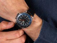 kwarcowy Zegarek męski Timex Allied Three GMT TW2R43600 - duże 6