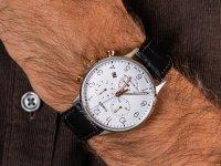 zegarek Timex TW2R71700 srebrny Waterbury