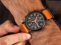 zegarek Timex TW2P97500 czarny Waterbury