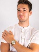 kwarcowy Zegarek męski Tommy Hilfiger Męskie 1710415 - duże 4