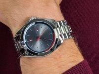 kwarcowy Zegarek męski Tommy Hilfiger Męskie 1791684 - duże 6
