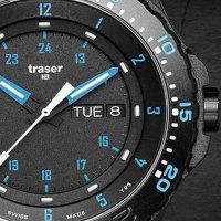 kwarcowy Zegarek męski Traser P66 Tactical Mission P66 Blue Infinity TS-105545 - duże 9