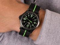 Traser TS-107426 P67 Officer Pro GunMetal Black/Lime zegarek klasyczny P67 Officer Pro