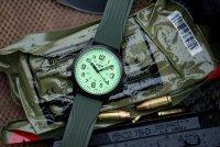 kwarcowy Zegarek męski Traser P67 Officer Pro P67 Officer Pro GunMetal Lime TS-107424 - duże 11