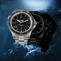 zegarek Traser TS-109378 kwarcowy męski P67 SuperSub P67 SuperSub Black