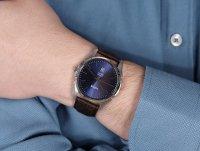 Lorus RH957NX9 zegarek srebrny klasyczny Klasyczne pasek