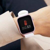 Marea B59004/3 zegarek srebrny sportowy Smartwatch pasek
