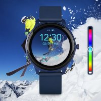 Marea B61001/2 zegarek czarny sportowy Smartwatch pasek