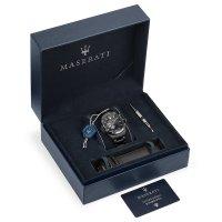 Maserati R8823140005 zegarek szary klasyczny Sfida bransoleta