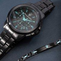 Maserati R8873644004 zegarek czarny elegancki Royale bransoleta