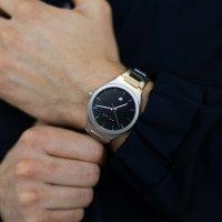 Meller 11PN-3.2SILVER Nairobi Black Silver Nairobi klasyczny zegarek srebrny