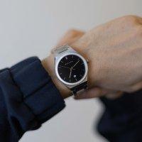 Meller 11PN-3.2SILVER Nairobi Nairobi Black Silver zegarek męski klasyczny mineralne z powłoką szafirową