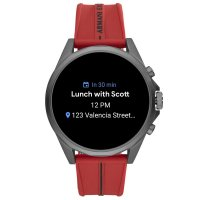 Armani Exchange AXT2006 zegarek szary sportowy Fashion pasek