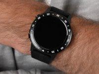Garett 5903246287035 Smartwatch Garett Multi 4 Sport RT czarny zegarek sportowy Męskie