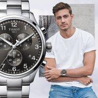 Tissot T116.617.11.057.01 zegarek męski sportowy Chrono XL bransoleta