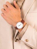 Doxa 171.10.011.02 męski zegarek D-Light pasek