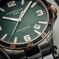Certina C033.851.21.097.00 męski zegarek DS-8 bransoleta