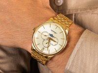 Adriatica A8269.1151QF Moonphase zegarek klasyczny Bransoleta