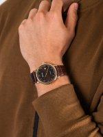 Adriatica A1280.122GQ męski zegarek Pasek pasek