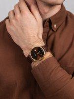 Adriatica A1283.121GQ męski zegarek Pasek pasek