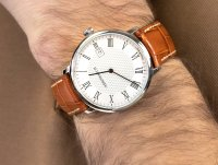 Aerowatch 21976-AA07 HERITAGE SLIM QUARTZ zegarek klasyczny Heritage Slim