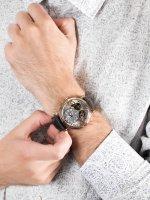 Carl von Zeyten CVZ0017RGY męski zegarek Black Forest pasek