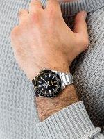 Edifice EFV-120DB-1AVUEF męski zegarek EDIFICE Momentum bransoleta