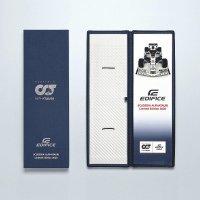 Edifice ECB-20AT-2AER męski zegarek EDIFICE Premium pasek