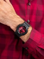 G-Shock GA-140AR-1AER męski zegarek G-SHOCK Original pasek