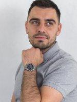 Casio LCW-M100TSE-1A2ER zegarek srebrny sportowy Radio Controlled bransoleta