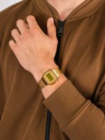 Casio Vintage A168WG-9BWEF męski zegarek VINTAGE Maxi bransoleta