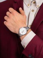 Doxa 105.10.051D.10 męski zegarek Slim Line bransoleta