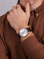 Doxa 107.10.021R.02 męski zegarek Slim Line pasek