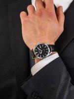 Jacques Lemans 1-2002D męski zegarek Classic pasek