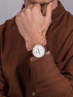 Pierre Ricaud P91074.1B13Q męski zegarek Pasek pasek