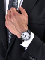 Rubicon RNCE21DMSX03BX męski zegarek Pasek pasek