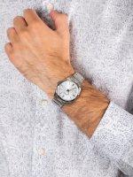 męskiZegarek Seiko Classic SUR307P1 bransoleta - duże 5