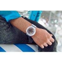 Swatch SO27E101 BLACKINJELLY zegarek klasyczny Big Bold
