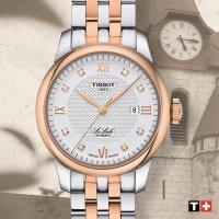 Tissot T006.407.22.036.00 męski zegarek Le Locle bransoleta