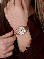 Michael Kors MK4491 zegarek różowe złoto klasyczny Lauryn bransoleta