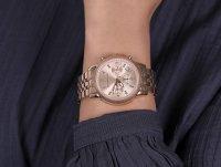 Michael Kors MK6077 zegarek różowe złoto sportowy Ritz bransoleta